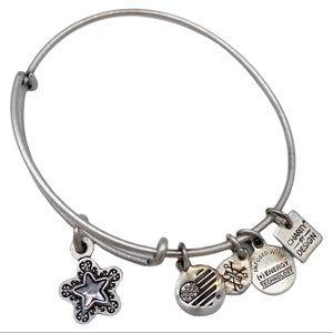 Alex and Ani True Wish Charm Bangle Bracelet Star